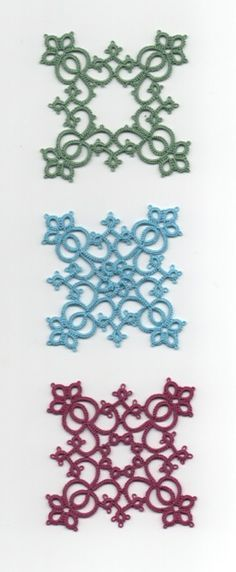 square motif from Ann Orr's Classic Tatting Patterns