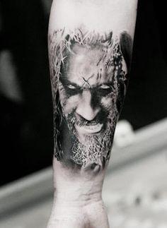 Realism Portraits Tattoo by Neon Judas