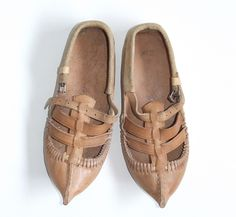 folk footwear from macedonia... They're called opinsi