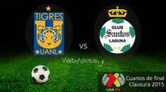 Tigres vs Santos, vuelta de la Liguilla C2015 ¡En vivo! - http://webadictos.com/2015/05/16/tigres-vs-santos-liguilla-c2015/?utm_source=PN&utm_medium=Pinterest&utm_campaign=PN%2Bposts
