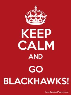 Blackhawks...