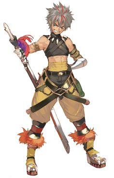Toma - Characters & Art - Shining Force EXA