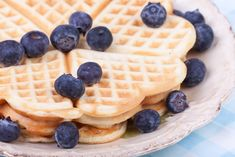 Die Generation YES Waffel aus dem Airfryer Waffle Cake, Tone It Up, Healthy Habits, Waffles, Sweets, Make It Yourself, Dinner, Breakfast, Food