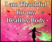 Image result for i am thankful for my healthy body
