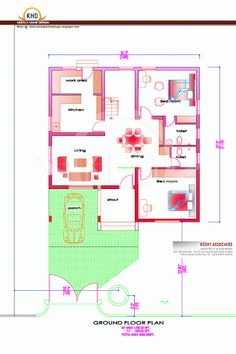 Kerala Home Plan And Elevation 1800 Sq Ft House Plans