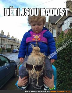 Děti jsou radost Jokes Quotes, I Don T Know, Funny Pins, Pranks, Little Ones, Cute Babies, Funny Jokes, Haha, Funny Pictures