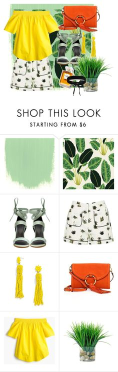 """""""Untitled #845"""" by brandi-gurrola on Polyvore featuring TIBI, Topshop, BaubleBar, Tory Burch, J.Crew, SkinCare and Boohoo"""