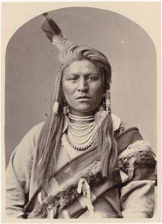 Uriewici or Jack Tendoy, Lemhi Shoshone, 1880