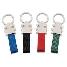 LLAVERO GIRL REF:LAG-255   Llavero Metálico.  Con Parte de Color en Reata. Tipo de Producto: IMPORTADO Medidas: 9.4 cm largo total x 2 cm ancho Reata (No Incluye Medida de la Argolla) Parte Metálica: 3.7 cm largo x 3.3 cm ancho. Área de Marca: 1.5 cm ancho x 0.5 cm alto. Técnica de Marca: Yag / Láser. Colores Disponibles: Azul, Rojo, Verde y Negro.