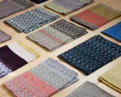 Hilary Grant knitwear and textiles Textiles, Textile Patterns, Print Patterns, Pattern Ideas, Fair Isle Knitting, Hand Knitting, Knitting Machine Patterns, Fair Isle Pattern, Fabric Manipulation