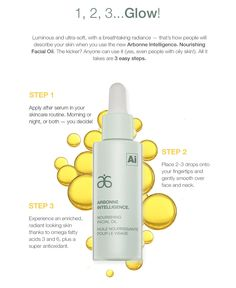Get Glowing! New Arbonne Intelligence® Nourishing Facial Oil http://www.arbonne.com/discover/products/intelligence.shtml