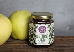 12 ounce Quince Jam (Mermelada de Membrillo) - 12 oz. Serve with hard cheese such as Manchego or use as a filling for empanadas, cookies, and other pastries. Ingredients: quince fruit, organic cane sugar, Mexican vanilla beans, lemon juice. NO ARTIFICIAL PRESERVATIVES  Lolas Cocina specializes in gourmet goods with Mexican flavor. All products are handcrafted in small batches, with love. HECHO CON AMOR  We can create custom orders for you with any of our in-stock items. Convo us before…