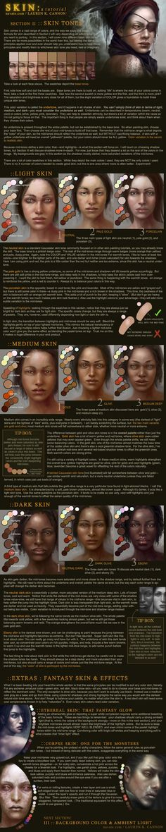 SKIN: a tutorial - Part 2 by navate.deviantart.com on @deviantART
