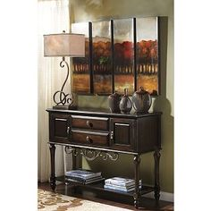 inexpensive upgrade....I added metal scroll work to a basic sofa table....luv it!