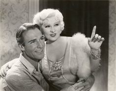 "Mae West is supposed to be telling Randolph Scott ""Go West, Young Man"" (1936) but I suspect what she's really saying is: ""My bedroom's up thataway."" Mae would be waiting a long time since Scott was reportedly more interested if Cary Grant was up there."