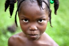 Little girl from Suriname
