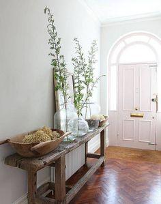 rustic entrance hallway decorating ideas - Google Search