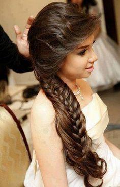Peinados para cabello largo y liso