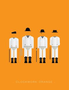 A Clockwork Orange - movie poster - Frederico Birchal
