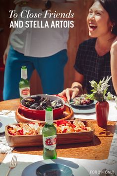 Slow summer down with your loved ones. Savor the season by spending time on what really matters — delicious food, your favorite company, and Stella Artois.