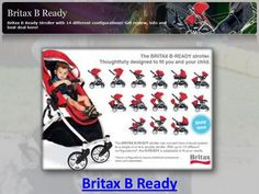 Kollektion 2018 Britax B-READY Kombi-Kinderwagen Cosmos black