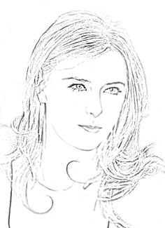 Maria imitation dessin