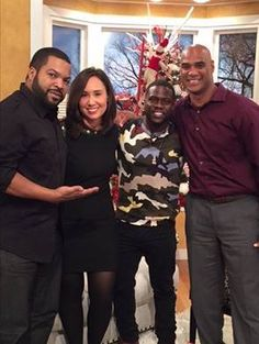 "Ice Cube and Kevin Hart dropped by to talk about ""Ride Along 2!"" We will air this interview closer to the movie's release!"