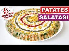 Tart Kalıbında Patates Salatası Videosu | Kadınca Tarifler | Kolay ve Nefis Yemek Tarifleri Sitesi