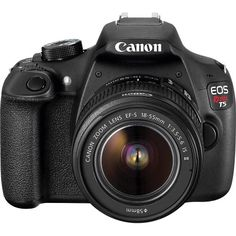 urn important moments into professional-quality photos with this DSLR camera, which comes with a 18–55mm f/3.5-5.6 IS II lens to help you get started. The camera intuitively detects shooting conditions using Scene Intelligent Auto mode, so you can capture events as they unfold, even at night.