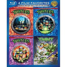 Walmart: 4 Film Favorites: Teenage Mutant Ninja Turtles Collection (Blu-ray) (Widescreen)