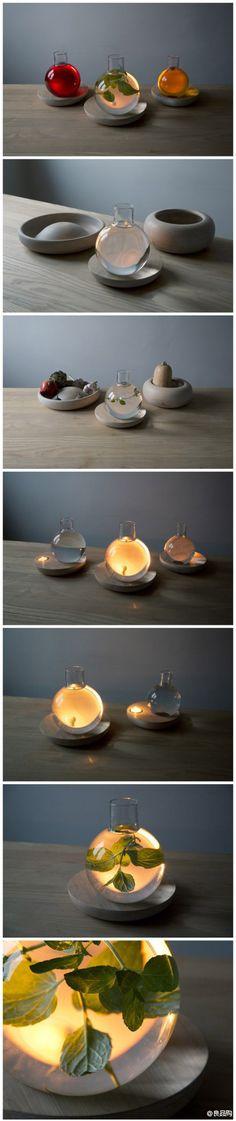 液体灯具,来自挪威设计师kristine five melvær