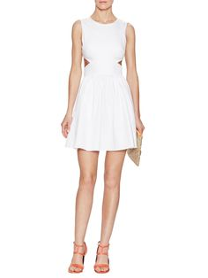 Superchick Cotton Cutout Dress from Peek-A-Boo Apparel & Shoes on Gilt