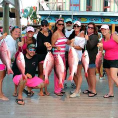 Happy anglers at the Destin Fishing Rodeo, www.destinfishingrodeo.org.