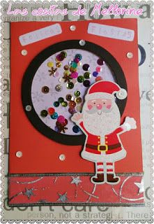 Esta ha sido mi primera shacker card navideña, me encanta como queda, en el blog tenéis el paso a paso. #shacker #card #tarjeta