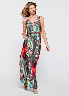 8f32bd51526 Ruha Elegáns maxi ruha dekoratív csattal • 11999.0 Ft • bonprix
