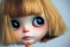 Innocent looking Custom Blythe. Beautiful custom by Meimei
