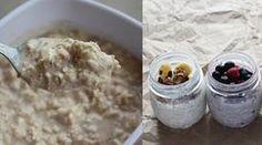 Overnight Oats - So bereitest du die gesunde Mahlzeit zu - Muskelaufbau|Eiweiss|Ernährung|Protein