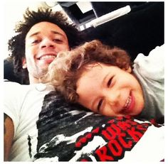 Marcelo and his son Enzo ❤