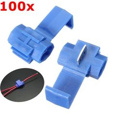 Excellway® LS01 100Pcs Blue Scotch Lock Quick Splice Wire Connector Terminals  Worldwide delivery. Original best quality product for 70% of it's real price. Buying this product is extra profitable, because we have good production source. 1 day products dispatch from warehouse. Fast & ...