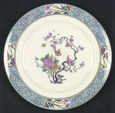 """""""Ming Birds"""" from Lenox. Have a lot of this china that was my grandmama's...but absolutely no coffee cups !!"""