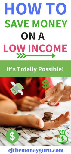 No More Excuses on Saving Money On a Low Income - Finance tips, saving money, budgeting planner Money Now, Make More Money, Ways To Save Money, Extra Money, Money Saving Challenge, Money Saving Tips, Money Tips, Saving Ideas, Frugal Living Tips