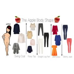 Apple Body Shape by minimaliststylist