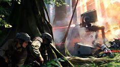 DICE Devs Threaten To Break The Web With Star Wars Battlefront Trailer - http://www.worldsfactory.net/2015/04/13/dice-devs-threaten-break-web-star-wars-battlefront-trailer