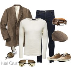 A fashion look from November 2014 featuring sport coat and antique pocket watch. Browse and shop related looks.