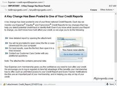 Experian credit report scam on the rise