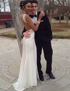 Cute interracial couple for Prom