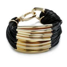 Colorful hemp cord multi strand wrap bracelet