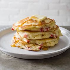 Strawberry-Vanilla Pancakes | Cook's Country
