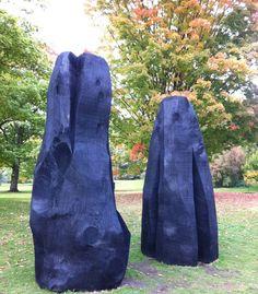 David Nash in Kew Gardens