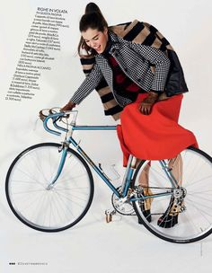 visual optimism; fashion editorials, shows, campaigns & more!: city chic: britt bergmeister by mark pillai for elle italia september 2013